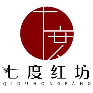 七度红坊美学院logo