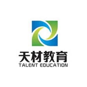濟南天材教育logo
