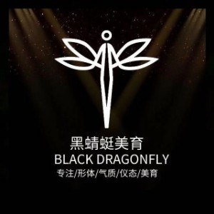 濟南黑蜻蜓模特美育機構logo
