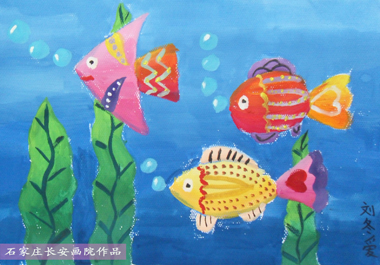 儿童学习水粉画的好处
