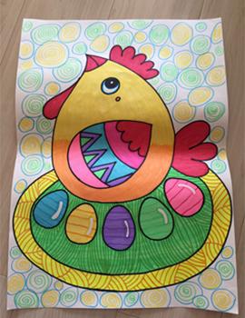 担任班主任,在工作中美术作为特长使工作颇有特色,并且涉及幼儿园配音