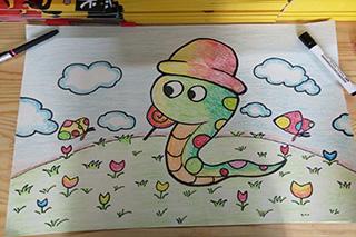 杭州儿童画培训 小班 费用 贝杰教育 杭州教育宝