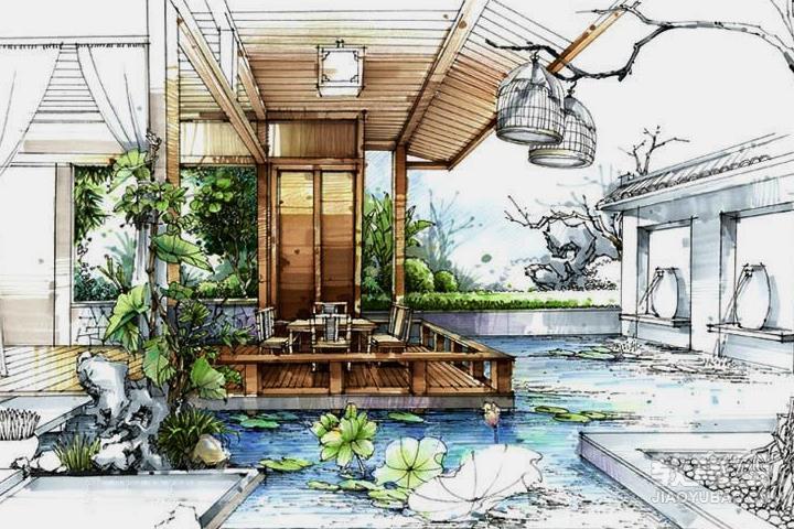 建筑室内手绘班