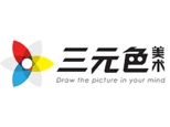 上海三元色教育logo