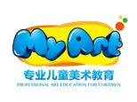 濟南我的藝術兒童美術教育logo