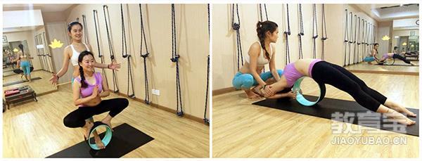 让每个都能安全来到后弯练习 ,真正的让每个人感受到瑜伽理疗效果.图片