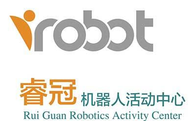 睿冠青少年機器人活動中心logo