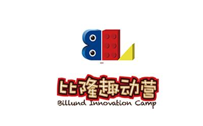 上海比隆趣動營樂高中心logo