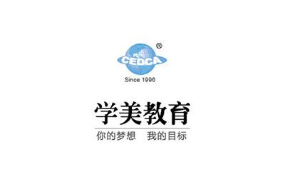 上海学美留学logo