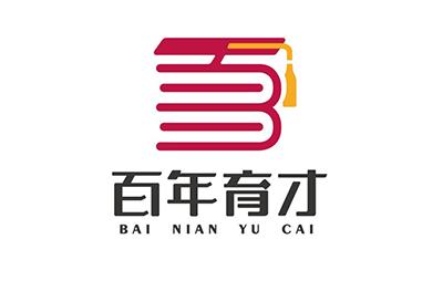 廣州百年育才教育logo