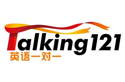 Talking121英語logo