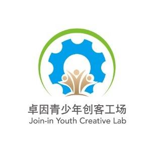 卓因青少年創客工場logo