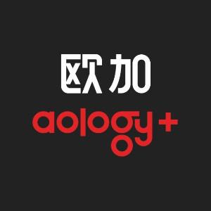 歐加aology+國際藝術中心logo