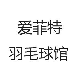 濟南市中愛菲特羽毛球館logo