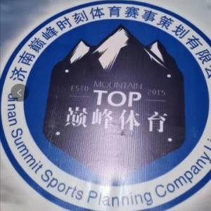 濟南巔峰羽毛球體育俱樂部logo