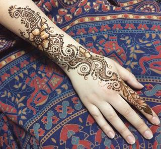 海娜曼henna手绘