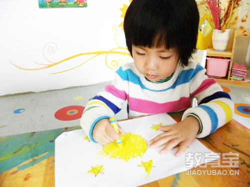 小孩上课绘画简笔画