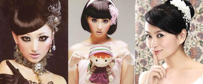 高级时尚彩妆创意班图片