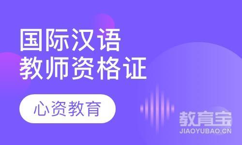 国际汉语教师资格证书高级班