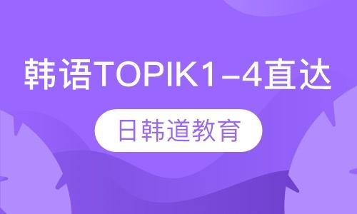 韩语TOPIK1-4直达课程