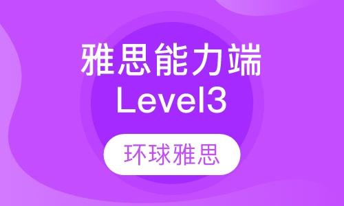 雅思能力端Level3