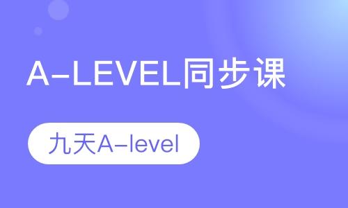A-LEVEL衔接补习班