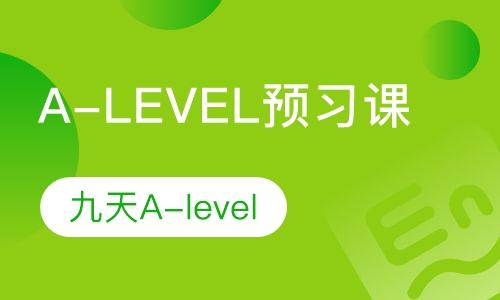 A-LEVEL入学测试