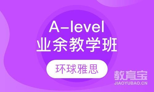 A-level业余制教学班