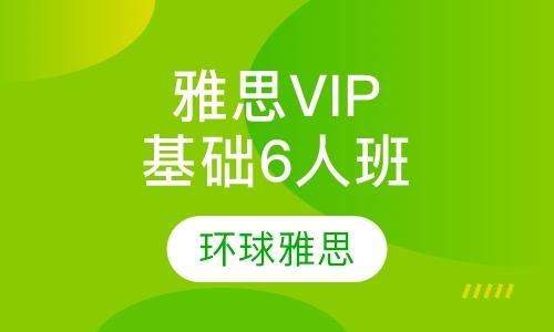雅思VIP基础6人班