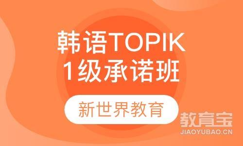 韩语TOPIK1级兴趣班