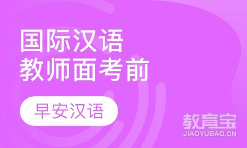 国际汉语教师面试考前培训
