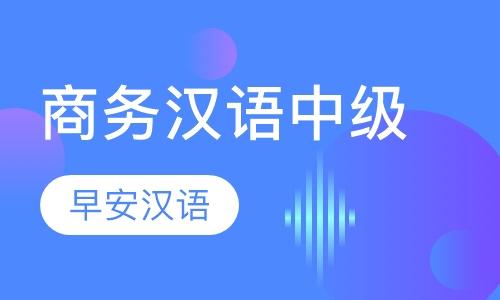 商务汉语中级水平课程