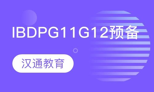 IBDP G11-G12预备课程