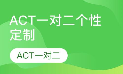 ACT一对二个性定制
