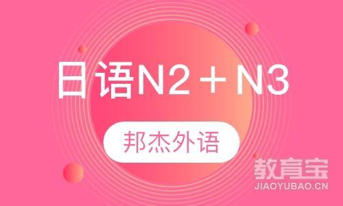 日语N2+N3