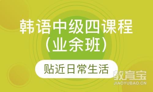 韩语语法强化课程(业余班)
