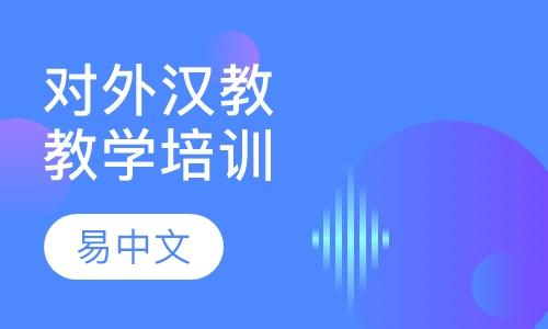 对外汉语教师教学技能培训初级