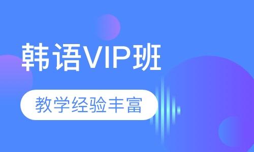 韩语个性VIP班