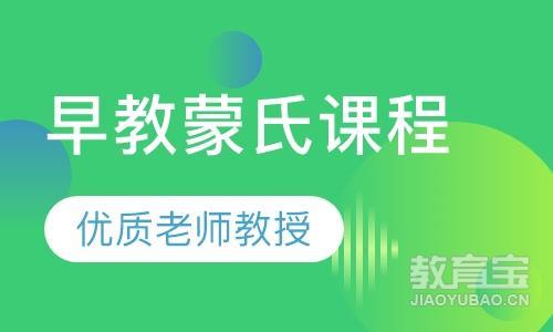 上海蒙氏教育课程