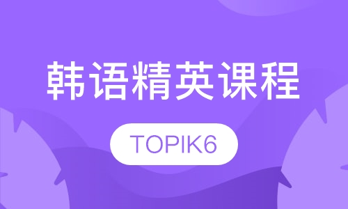 韩语精英课程(TOPIK6)