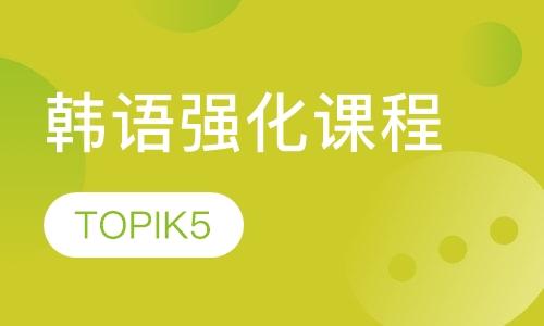 韩语强化课程(TOPIK5)