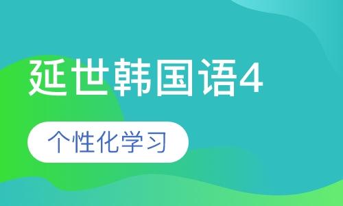 延世韩国语4课程