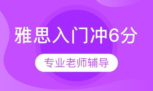 雅思入门冲6分(6人班)