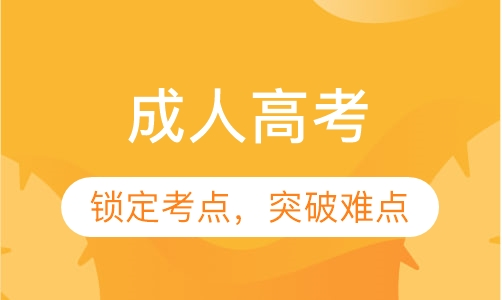 广州成人高考基础培训班