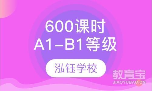 600课时A1-B1等级课程
