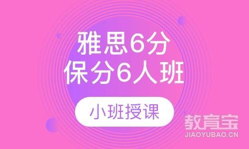 雅思6分保分VIP6人班